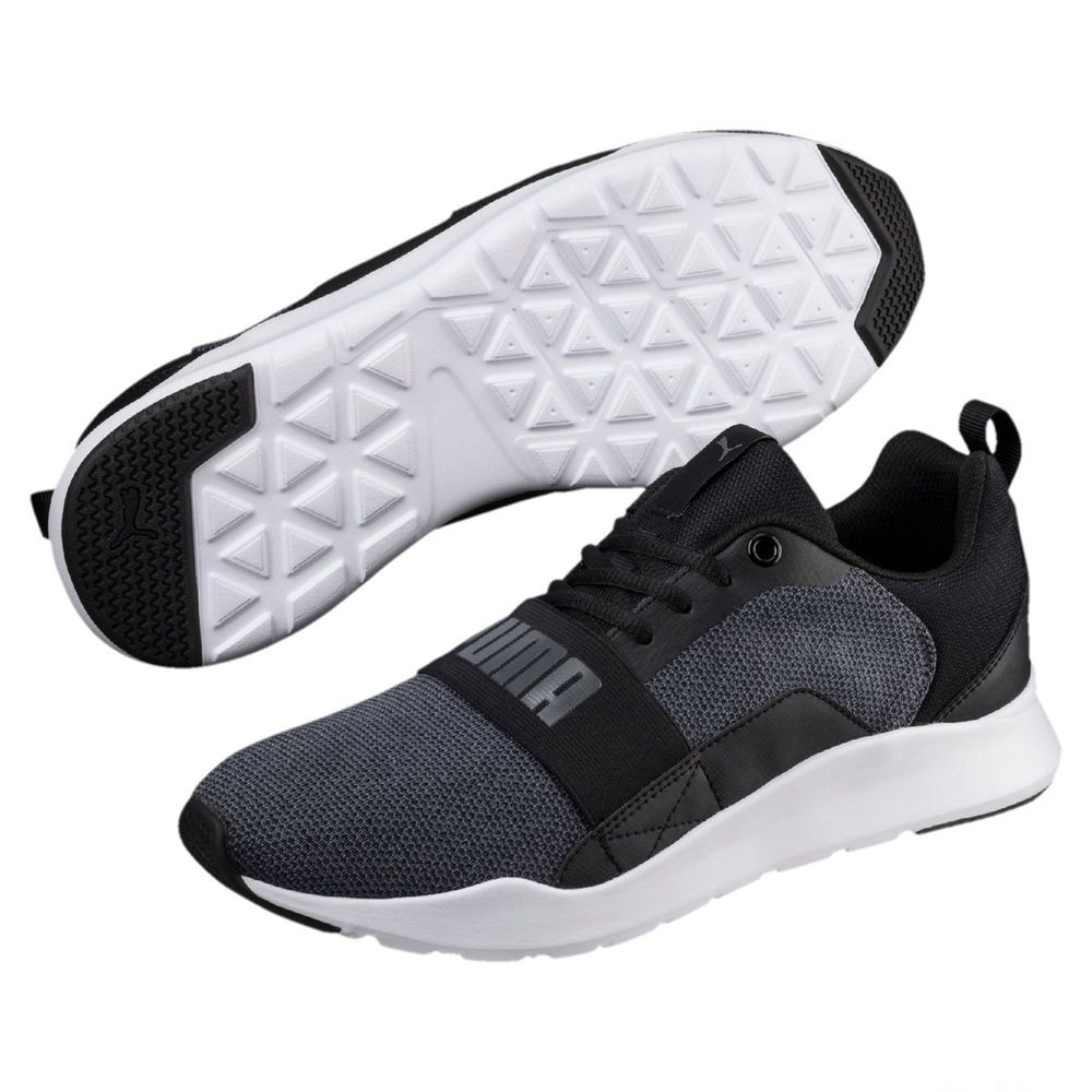 Basket Wired Knit Couleur Puma Black-Iron Gate