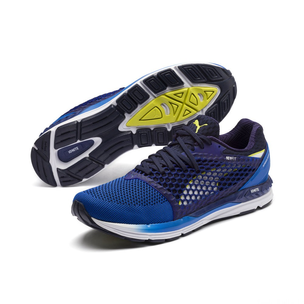 Speed 600 IGNITE 3 Couleur Strong Blue-Peacoat-White