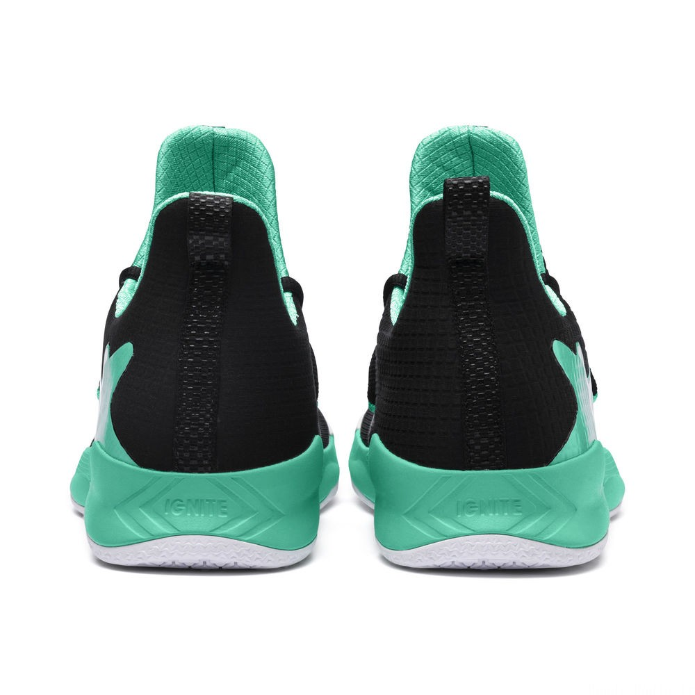 Chaussure Rise XT FUSE 2 Indoor Teamsport Couleur Black-Green-White