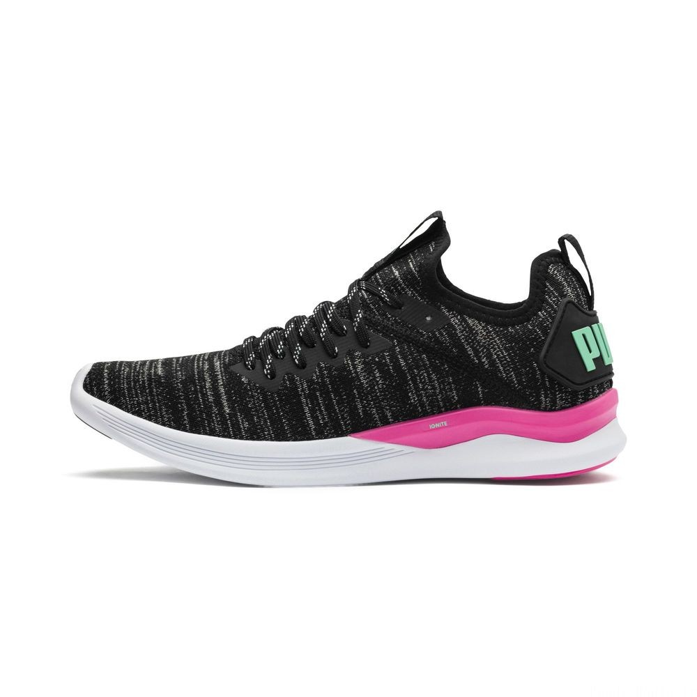 IGNITE Flash evoKNIT pour femme Couleur Black-PINK-Biscay Green