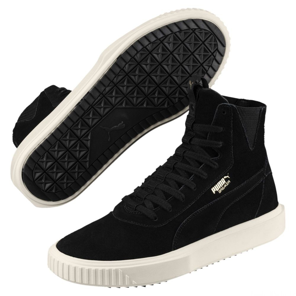 Basket Breaker Hi Evolution Couleur Puma Black-Whisper White