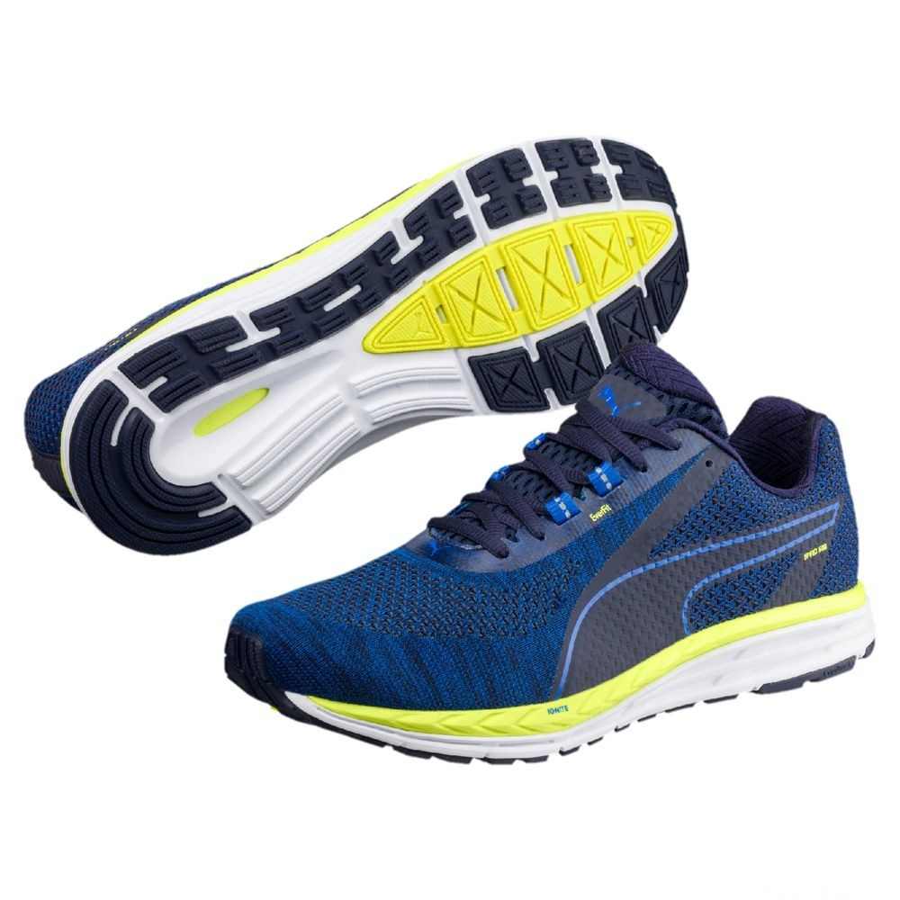 Speed 500 IGNITE 3 Couleur Turkish Sea-Fizzy Yellow