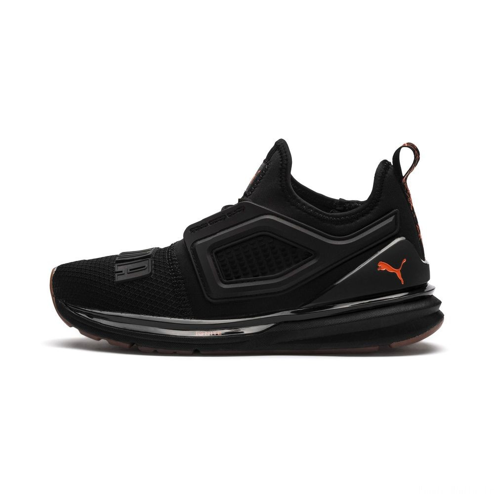 Basket IGNITE Limitless 2 Unrest pour enfant Couleur Puma Black-Firecracker