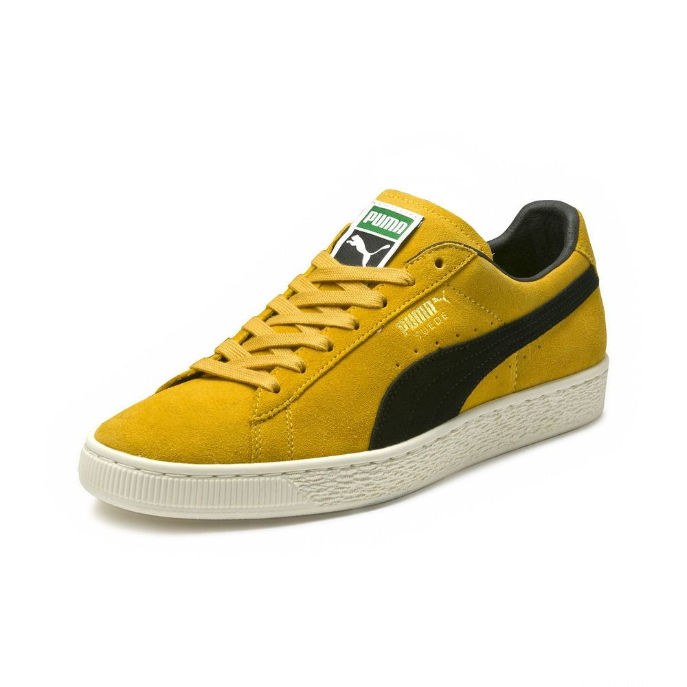 Basket Suede Classic Archive Couleur Mineral Yellow-Puma Black