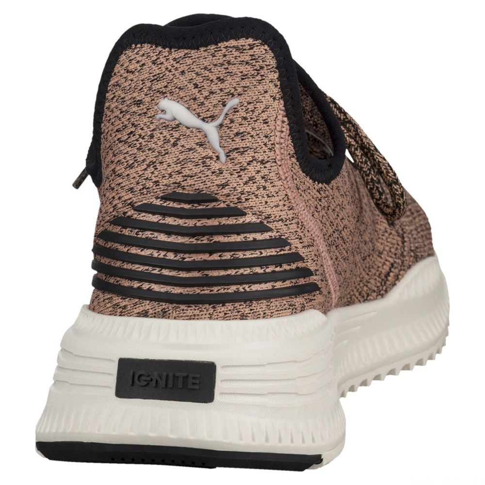 Basket AVID evoKNIT Couleur Muted Clay-Black-WhisperWht