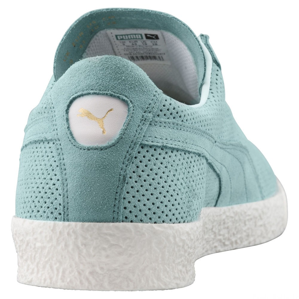Basket Te-Ku Summer Couleur Aquifer-Puma White