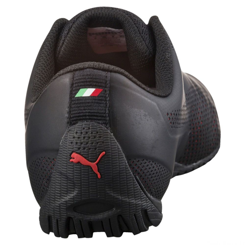 Basket Ferrari Drift Cat 5 Ultra Couleur Puma Black-Rosso Corsa-Black