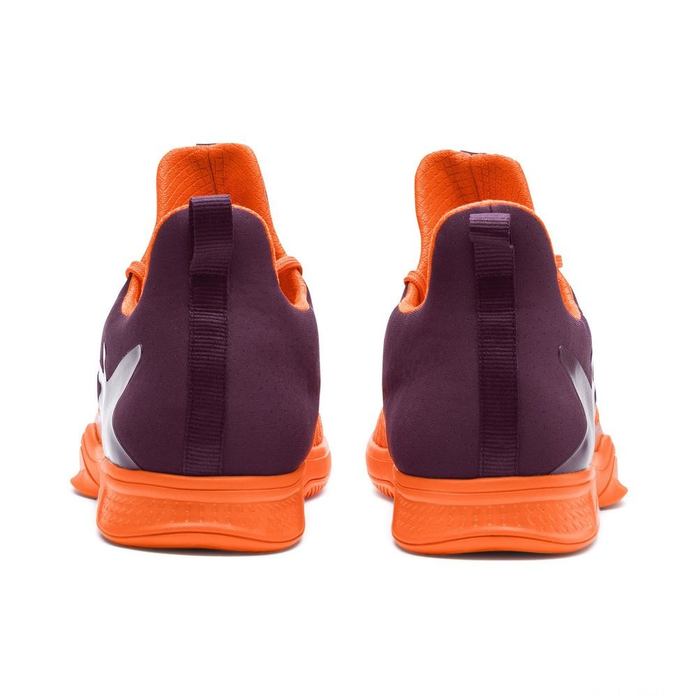Chaussure Rise XT 3 Indoor Training Couleur Orange-Purple-White