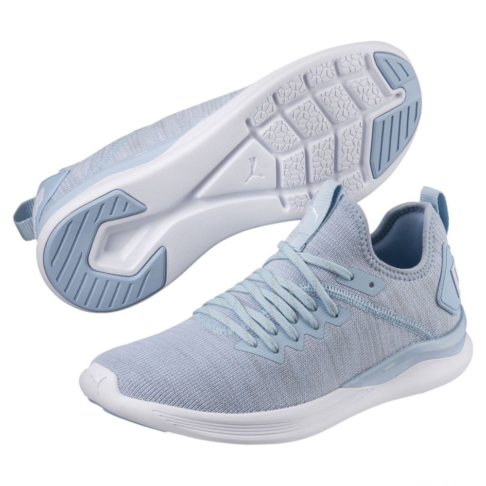 IGNITE Flash evoKNIT pour femme Couleur CERULEAN-Quarry-Puma White