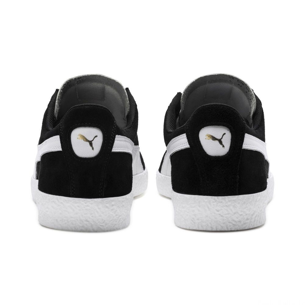 Basket Te-Ku Prime Couleur Puma Black-Puma White