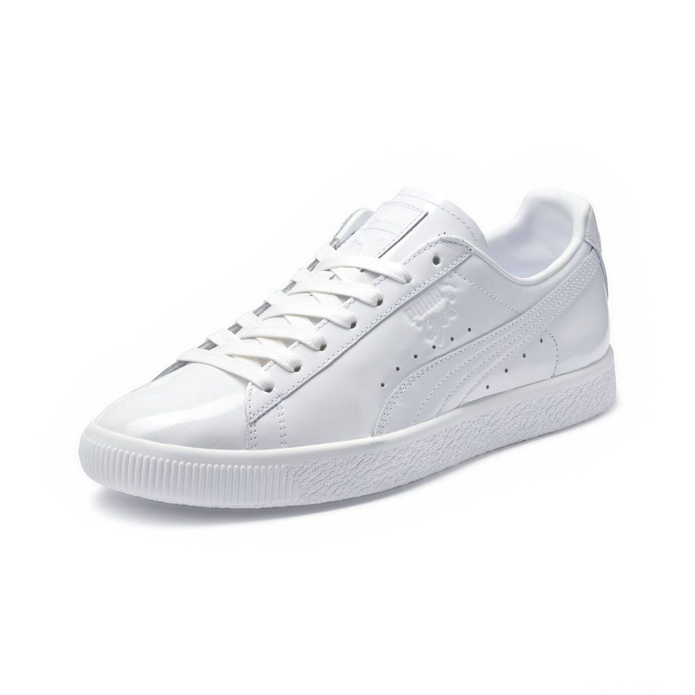 Basket Clyde Dressed Part Three Couleur Puma White