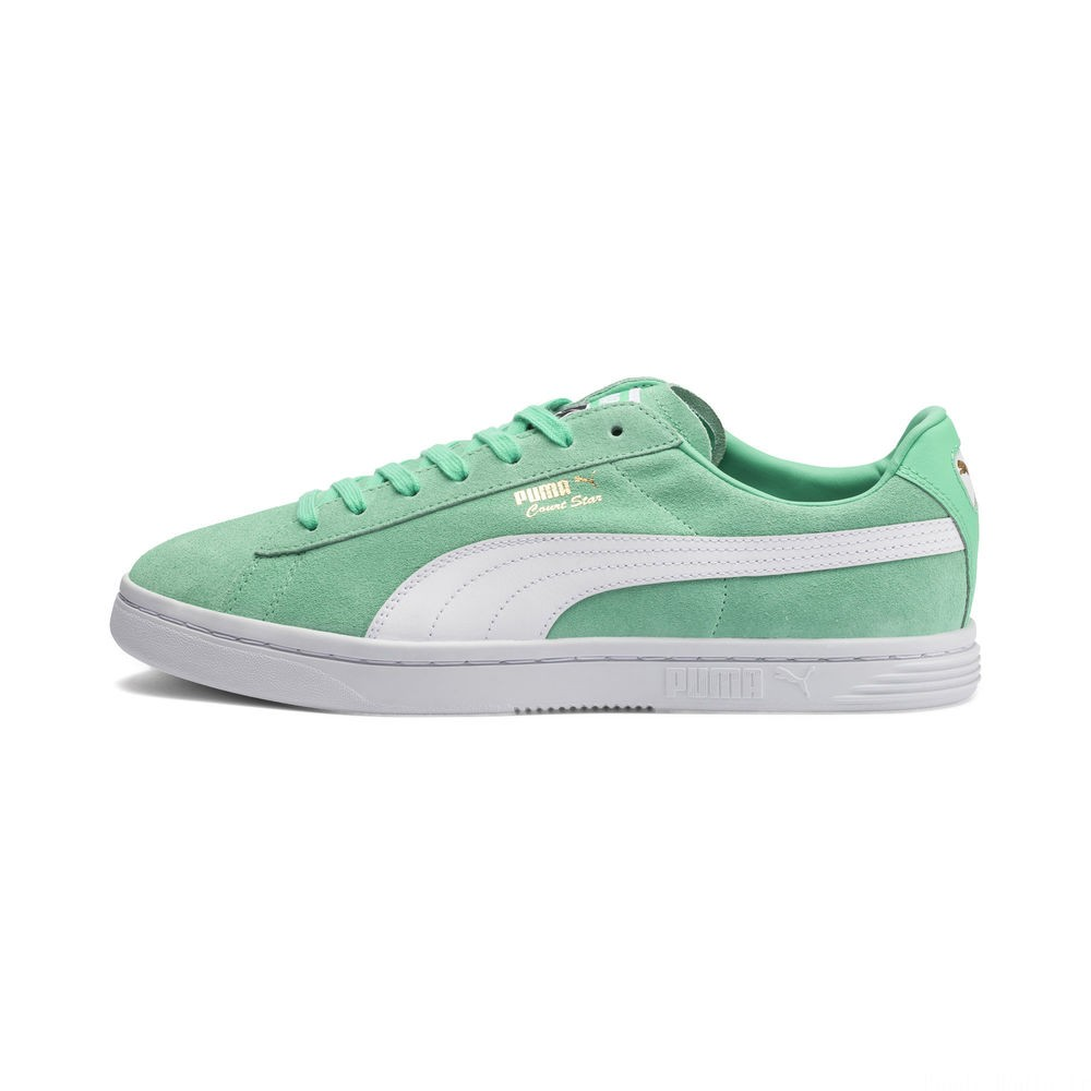 Basket Court Star FS Couleur Biscay Green-White-Gold