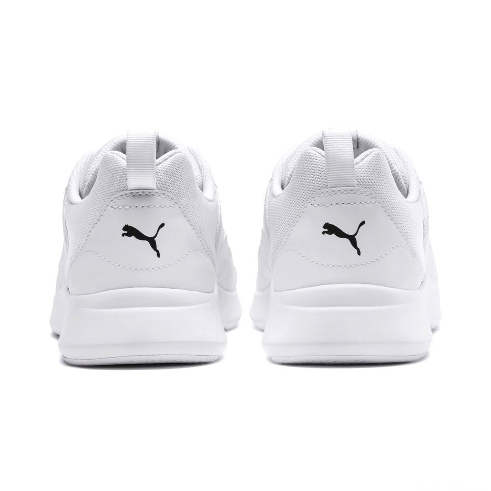 Basket Wired Couleur Puma White-Puma White-White