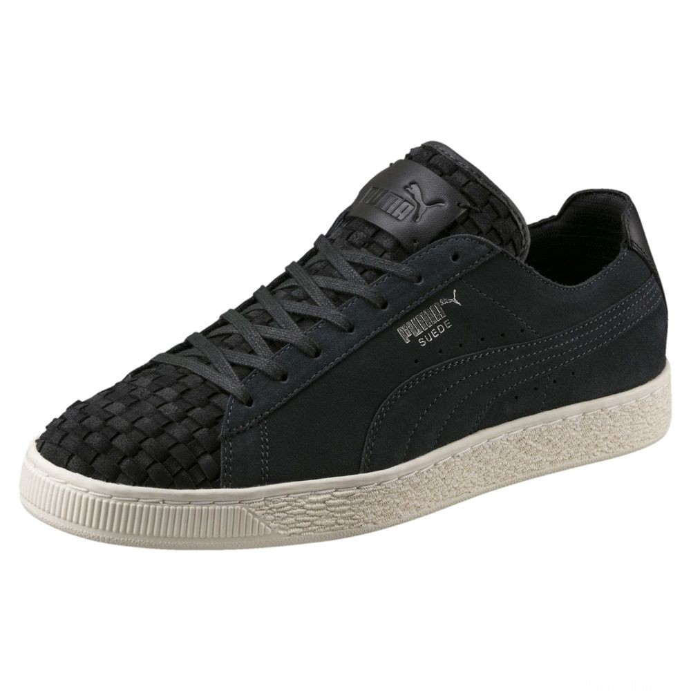 Basket Ferrari Suede Couleur Moonless Night-Whisper White