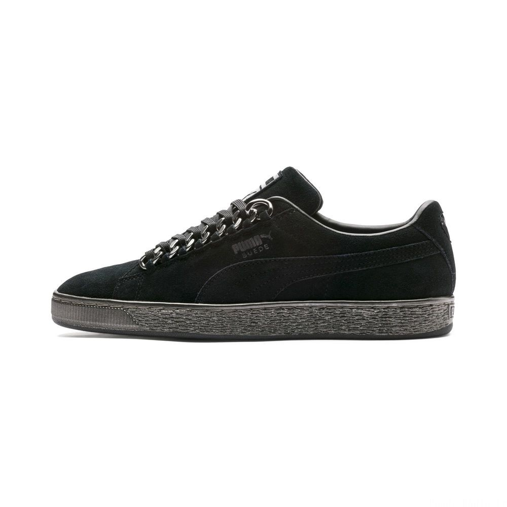 Basket Suede Classic X-chains Couleur Puma Black-Puma Black