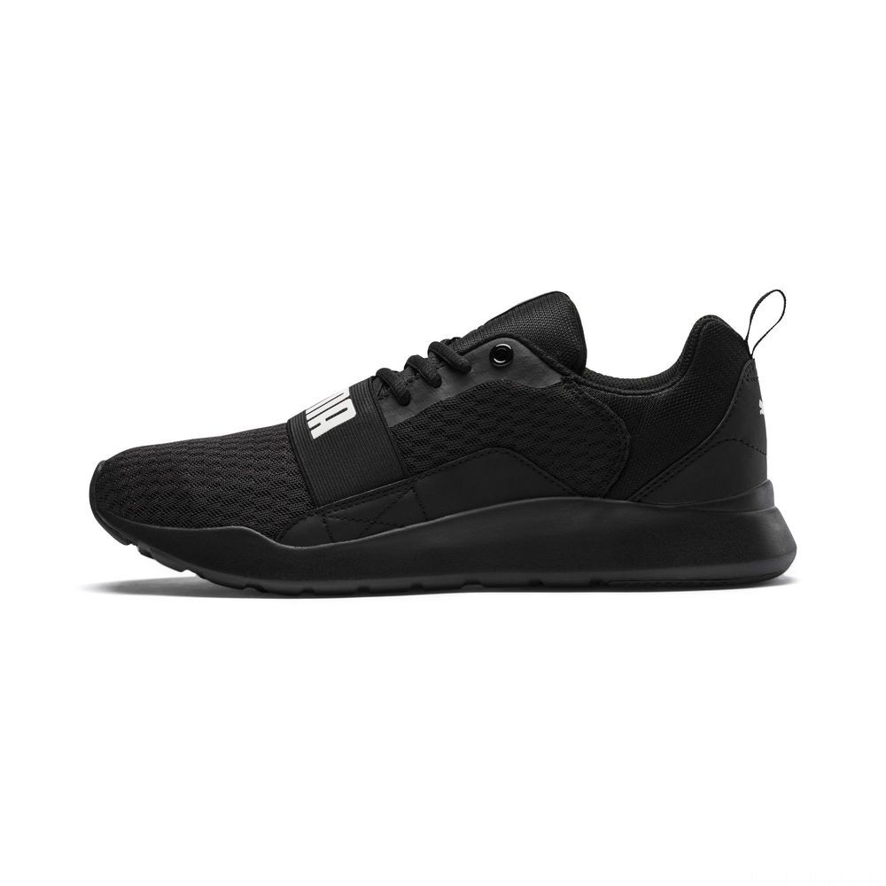 Basket Wired Couleur Puma Black-Puma Black- Black