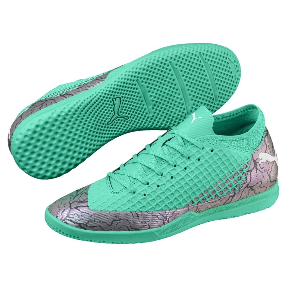 Chaussure de foot FUTURE 2.4 IT Couleur Col Shift-Green-White-Black