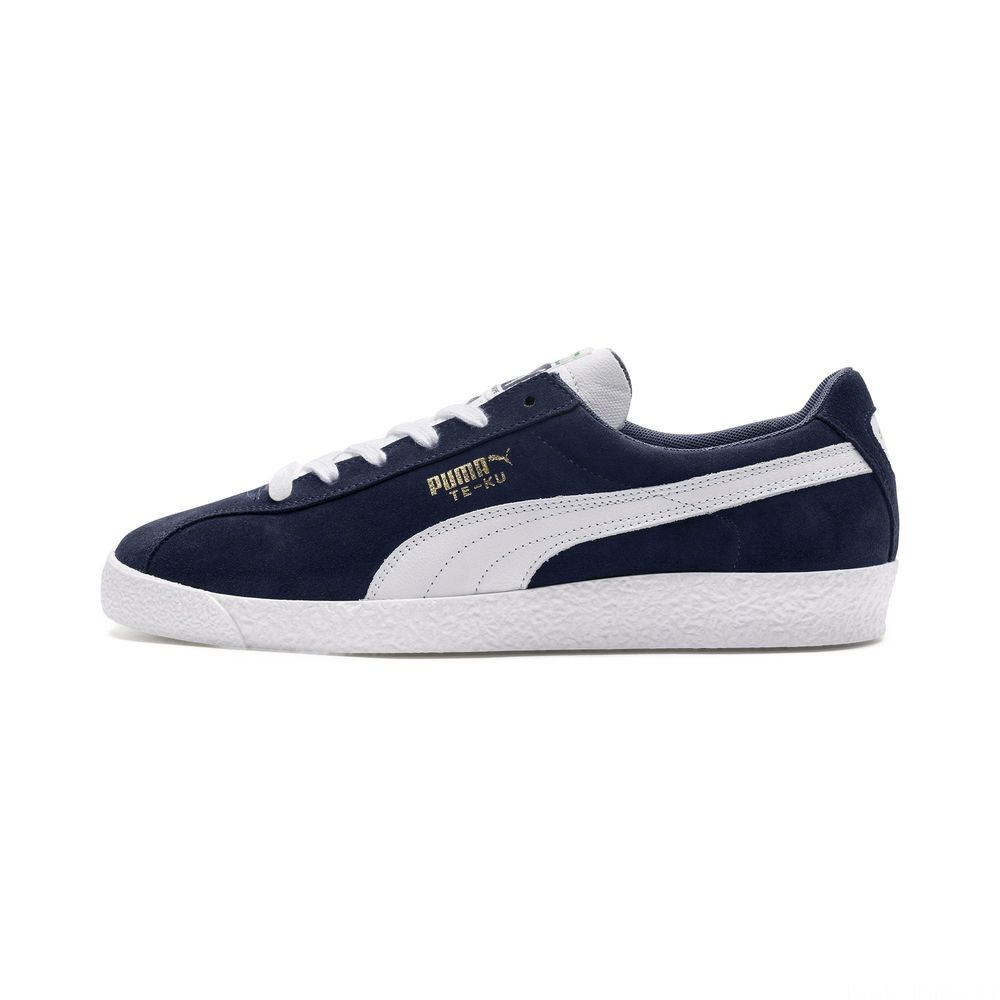 Basket Te-Ku Prime Couleur Peacoat-Puma White