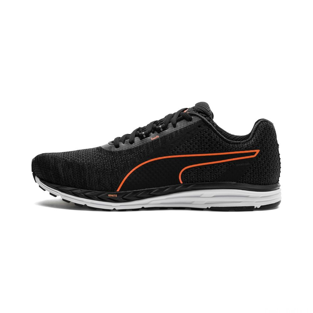 Speed 500 IGNITE 3 Couleur Black-Iron Gate-Orange