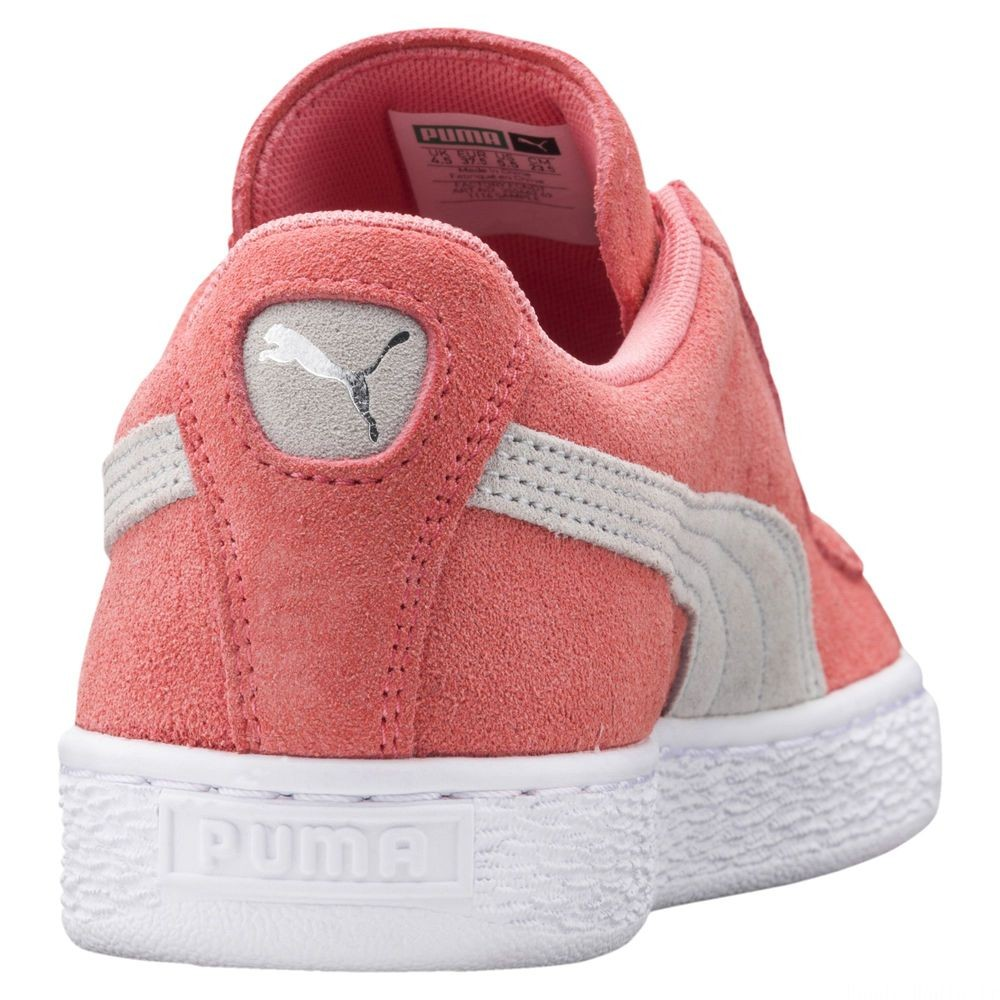 Basket Suede Classic Couleur Shell Pink-Glacier Gray