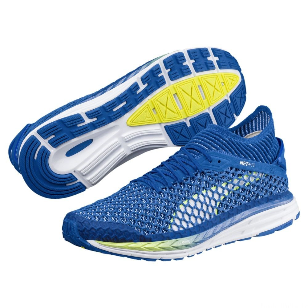 Speed IGNITE NETFIT 2 Couleur Turkish Sea-White-Yellow