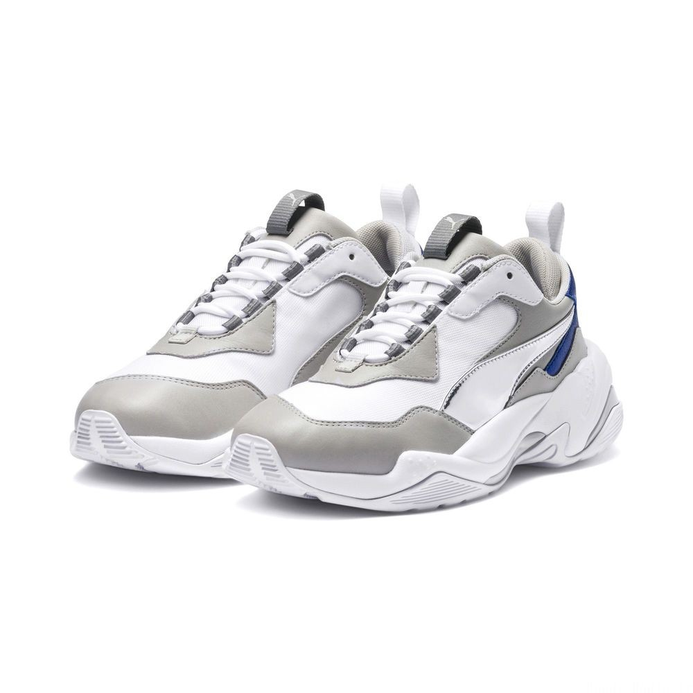 Basket Thunder Electric pour femme Couleur Puma White-Gray Violet-White