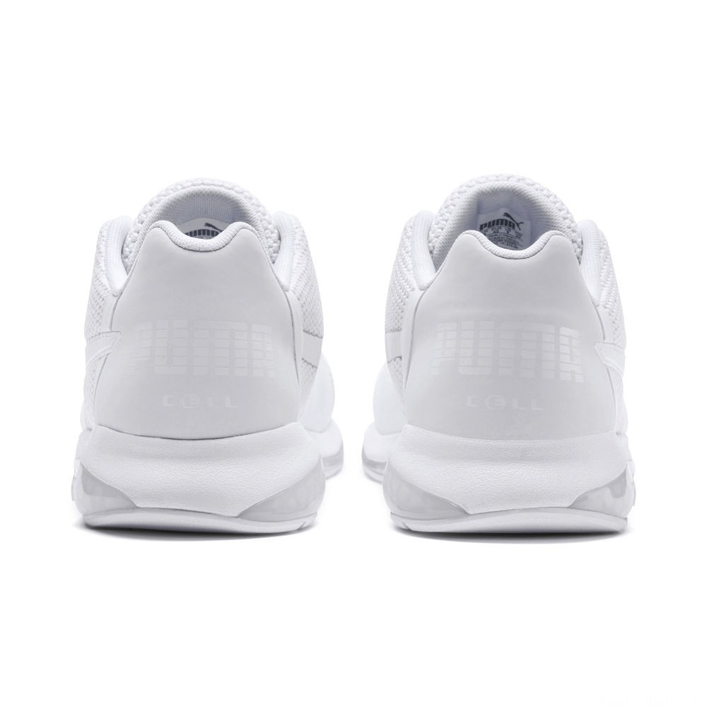 Basket Cell Ultimate pour homme Couleur Puma White