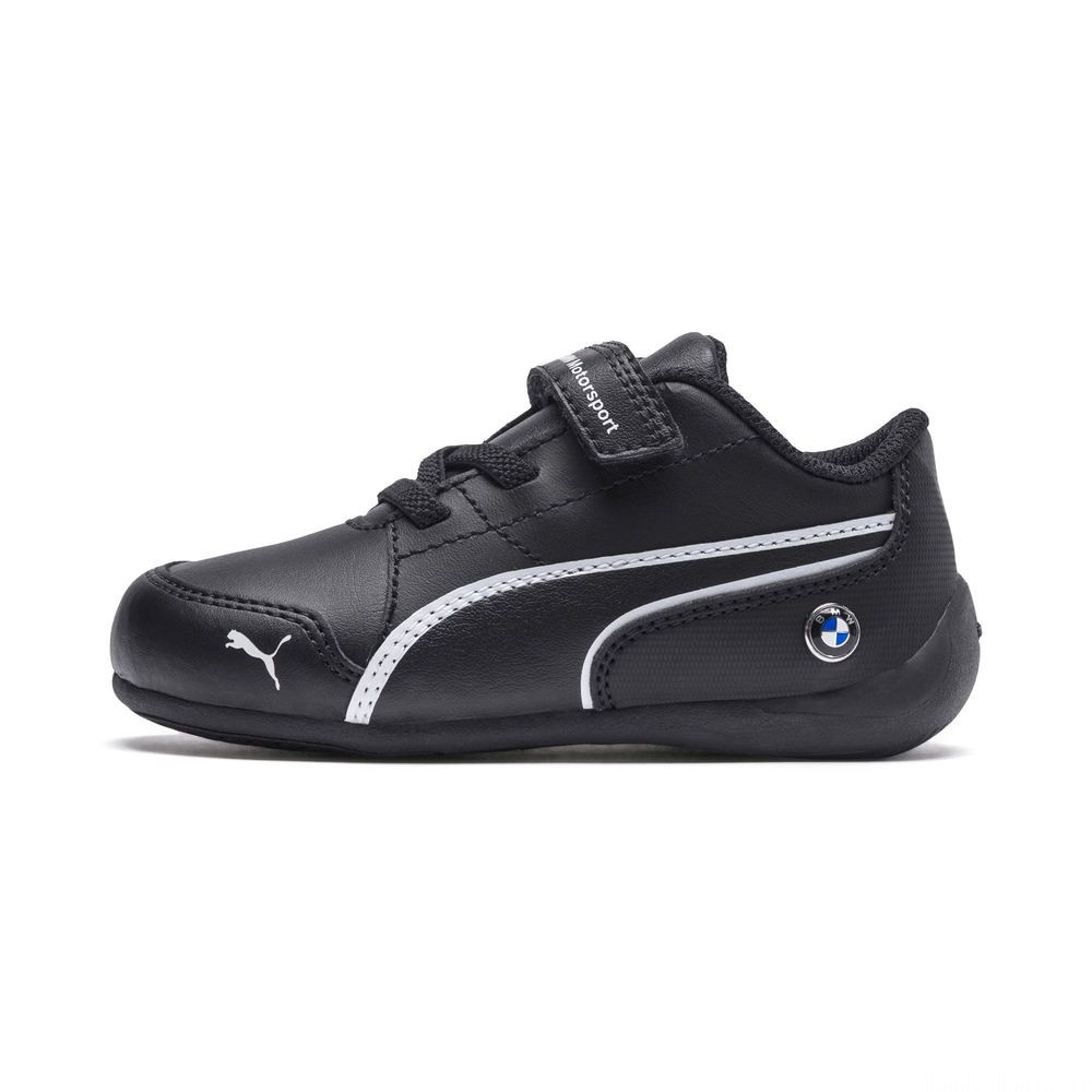 Basket BMW Motorsport Drift Cat 7 V Preschool pour enfant Couleur Anthracite-Anthracite