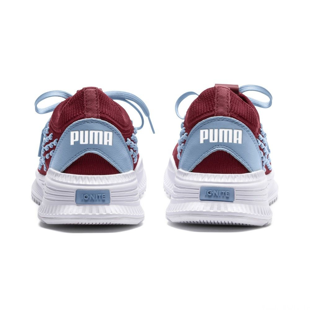 Basket AVID FUSEFIT Evolution Couleur Pomegranate-CERULEAN-White