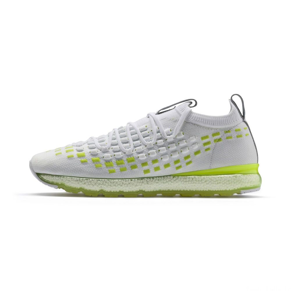 Basket Jamming FUSEFIT Evolution Couleur Puma White-Fizzy Yellow