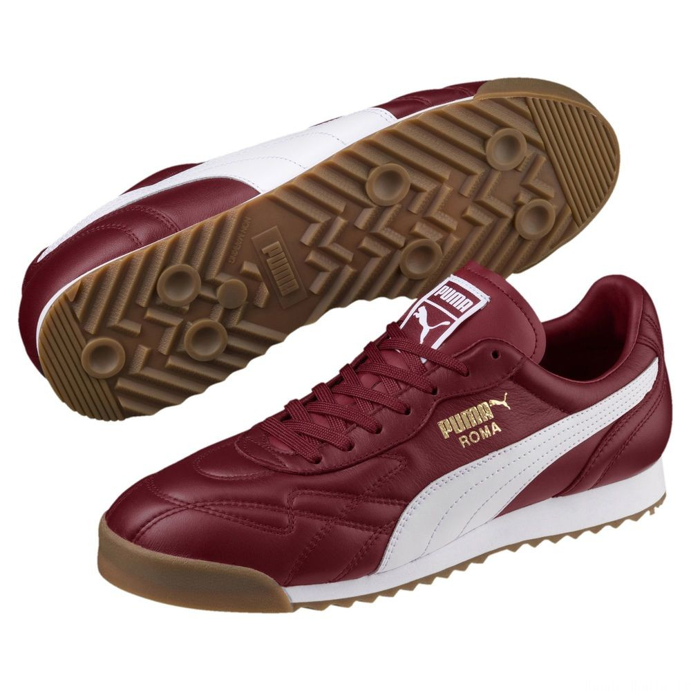 Basket Roma Anniversario Couleur Pomegranate-Puma White