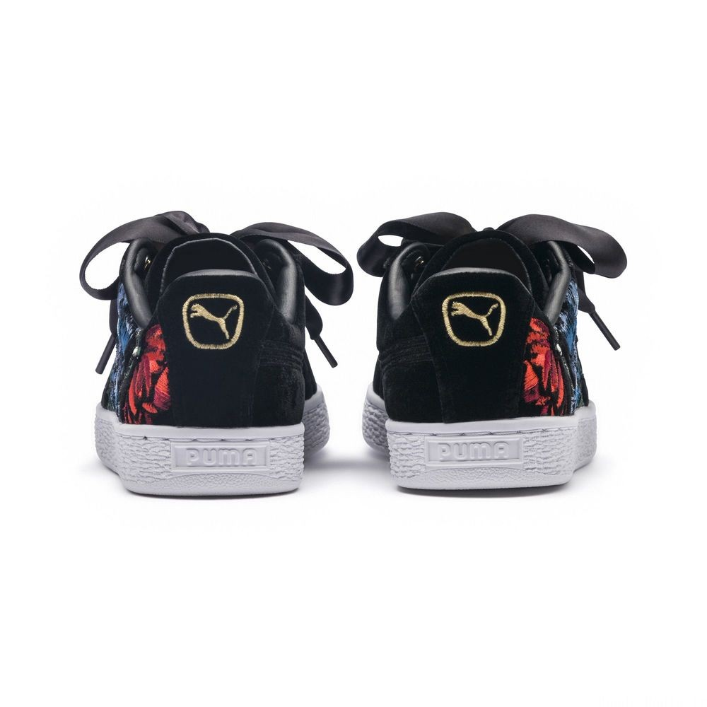 Basket Heart Hyper Embroiderypour femme Couleur Puma Black
