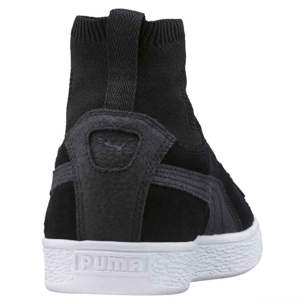 Basket Suede Classic Sock Couleur Puma Black