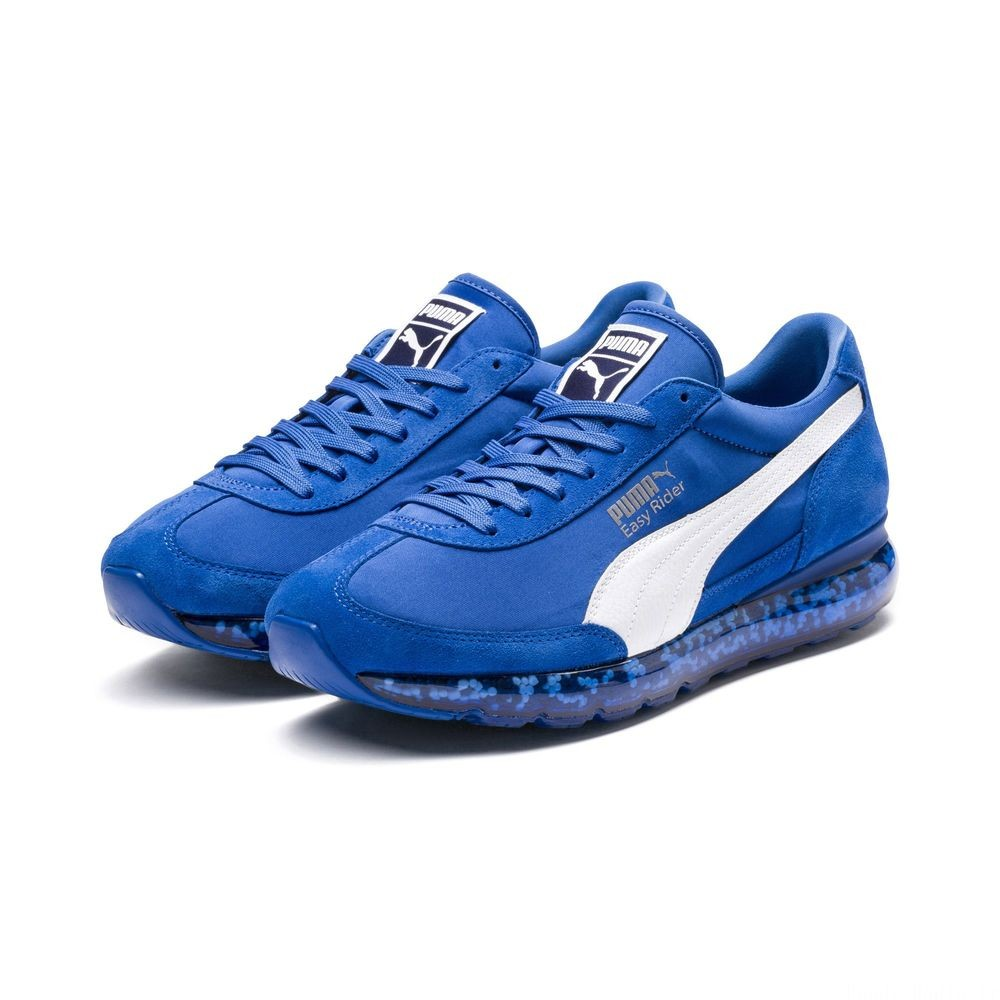 Chaussure de course Jamming Easy Rider Couleur Strong Blue-Puma White