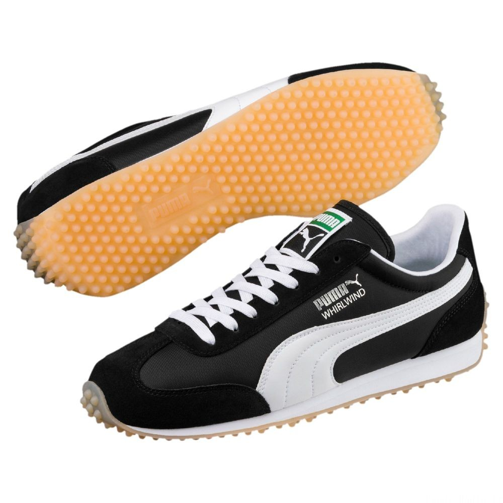 Basket Whirlwind Classic Couleur Puma Black-White-Silver