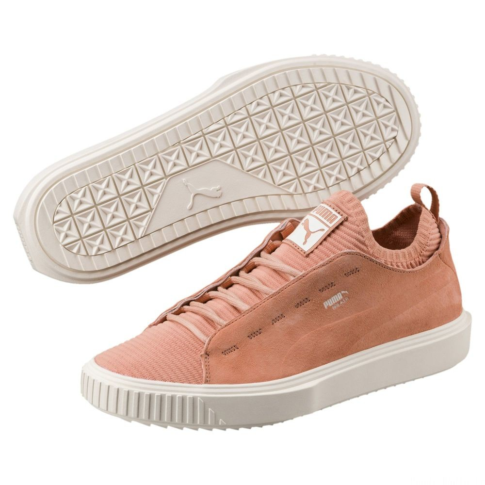 Chaussure Breaker Knit Sunfaded Couleur Muted Clay-Whisper White