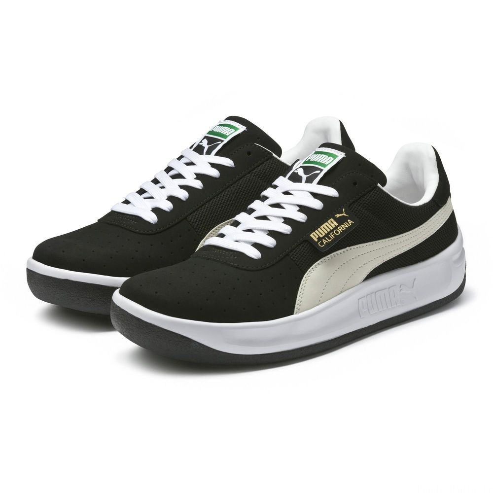 Basket California VTG Couleur Puma Black-Puma White