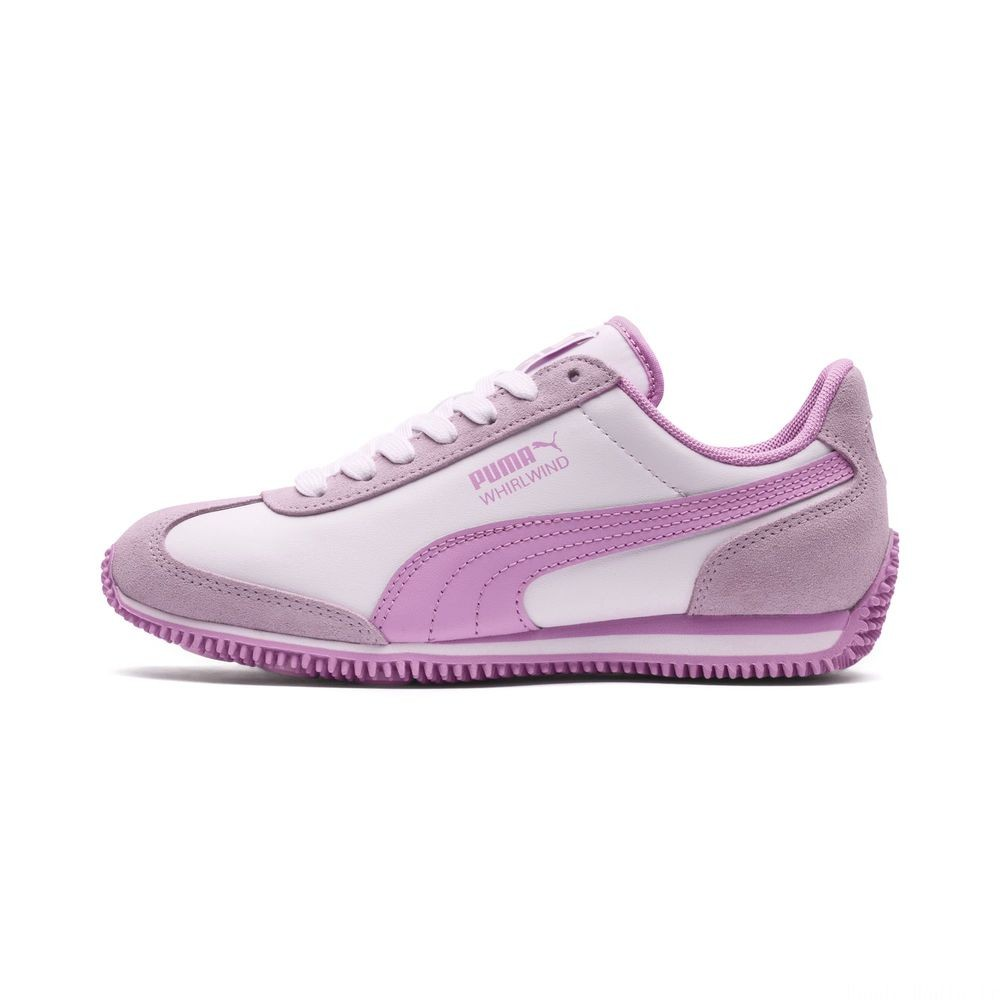 Basket Kids Whirlwind Couleur Puma White-Winsome Orchid