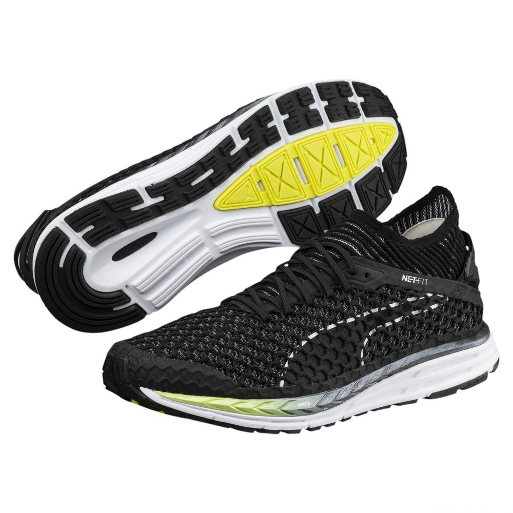 Speed IGNITE NETFIT 2 Couleur Black-QUIET SHADE-White