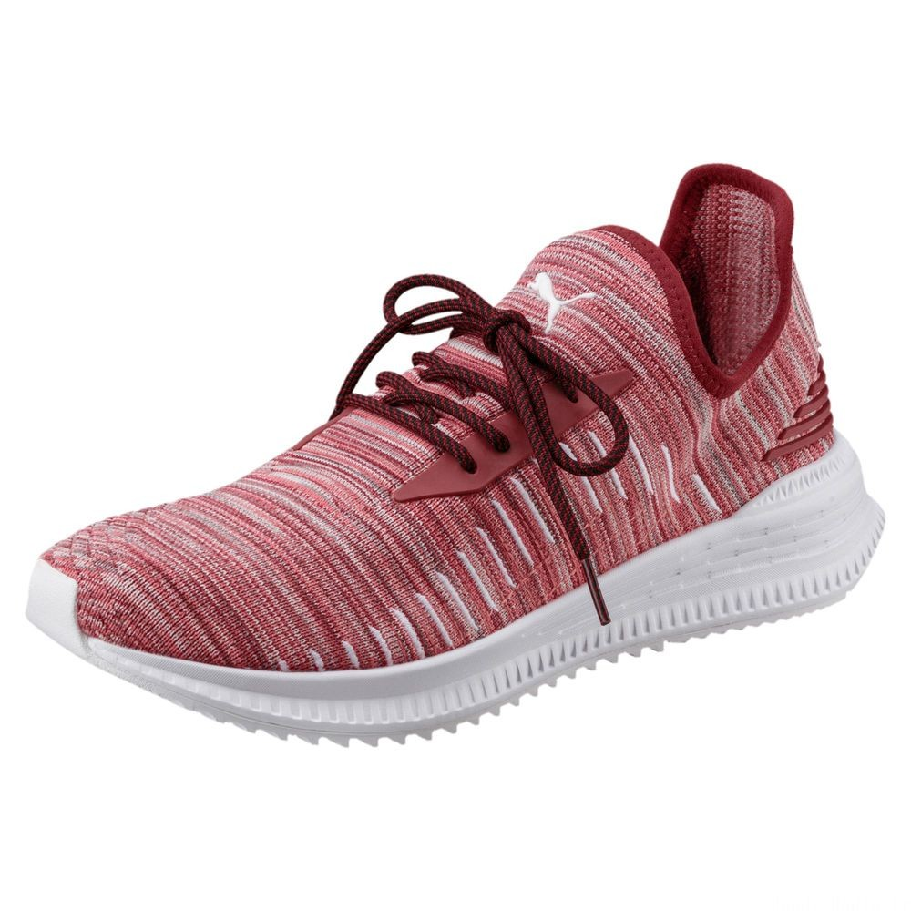 Chaussure  AVID evoKNIT Summer Couleur Red Dahlia-Gray Violet-White