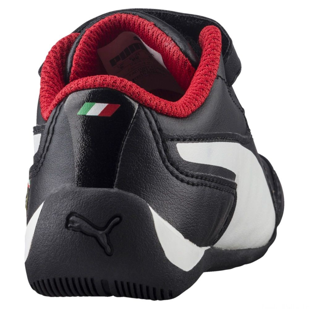 Basket Ferrari Drift Cat 7 V pour enfant Couleur Puma Black-Puma White