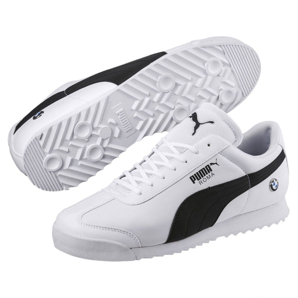 Basket BMW MMS Roma pour homme Couleur Puma White-Anthracite