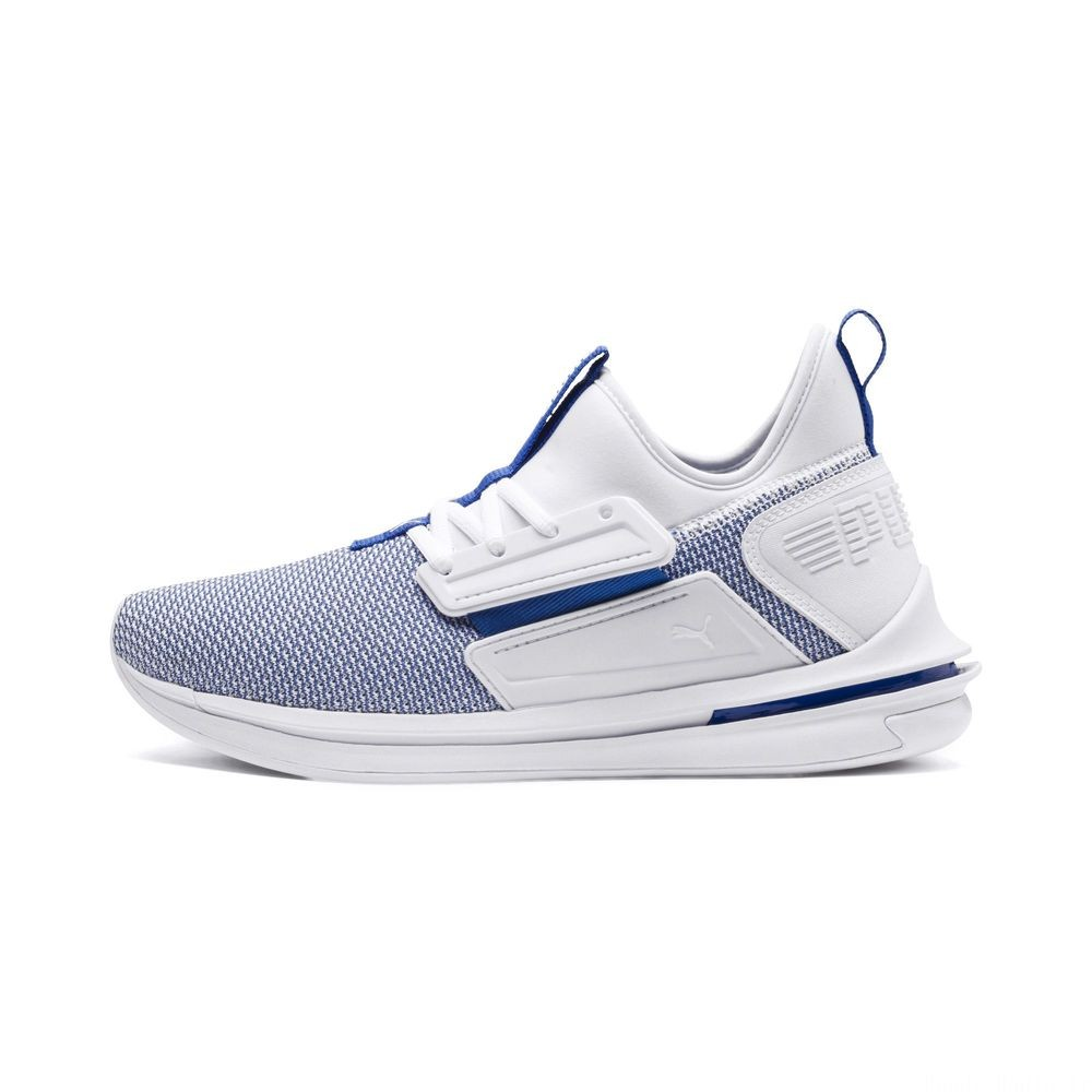 Basket IGNITE Limitless SR New School pour homme Couleur Puma White-Strong Blue