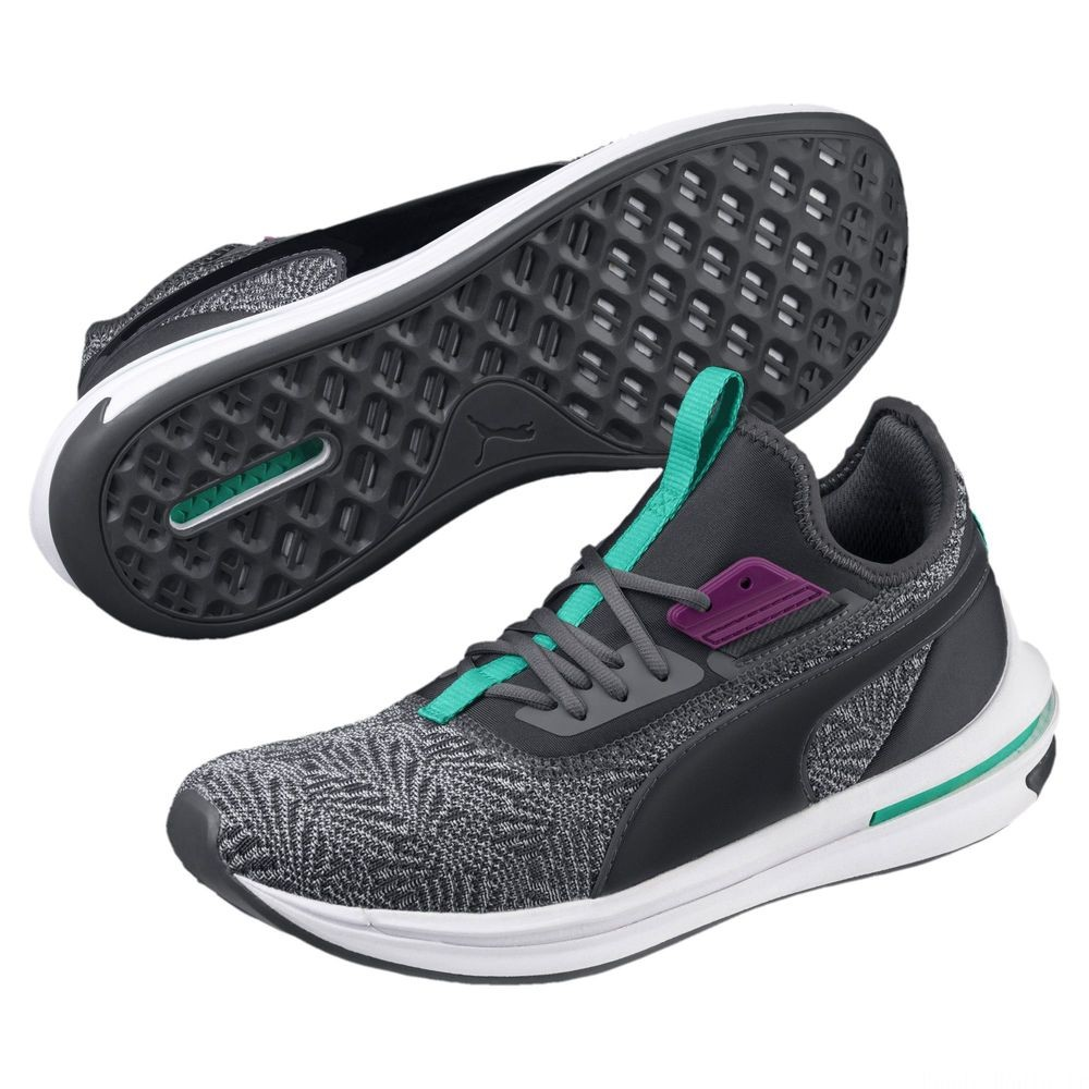 Chaussure de course IGNITE Limitless SR-71 Couleur Iron Gate-Spctra Green-Phlox