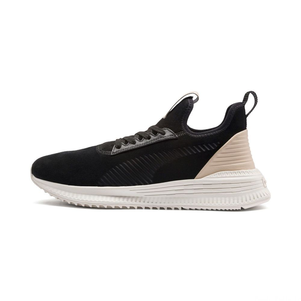 Basket AVID Lux Couleur Black-Vachetta-Whisper White