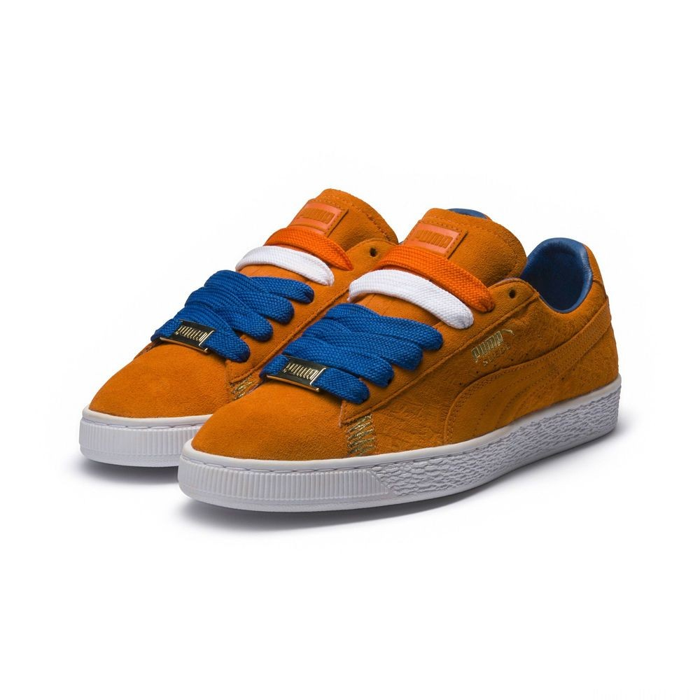 Basket Suede Classic NYC Couleur Vibrant Orange