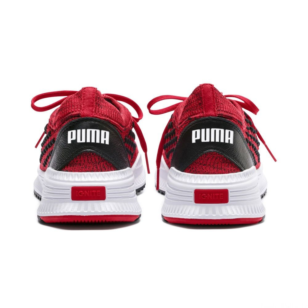 Basket AVID FUSEFIT Evolution Couleur Ribbon Red-Black-Puma White
