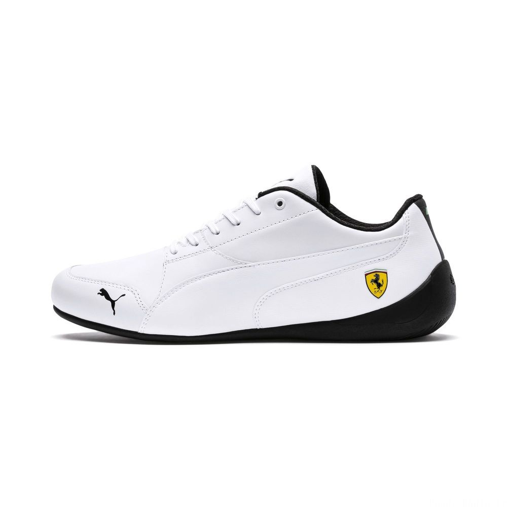 Basket Ferrari Drift Cat 7 Couleur Puma White-Puma White