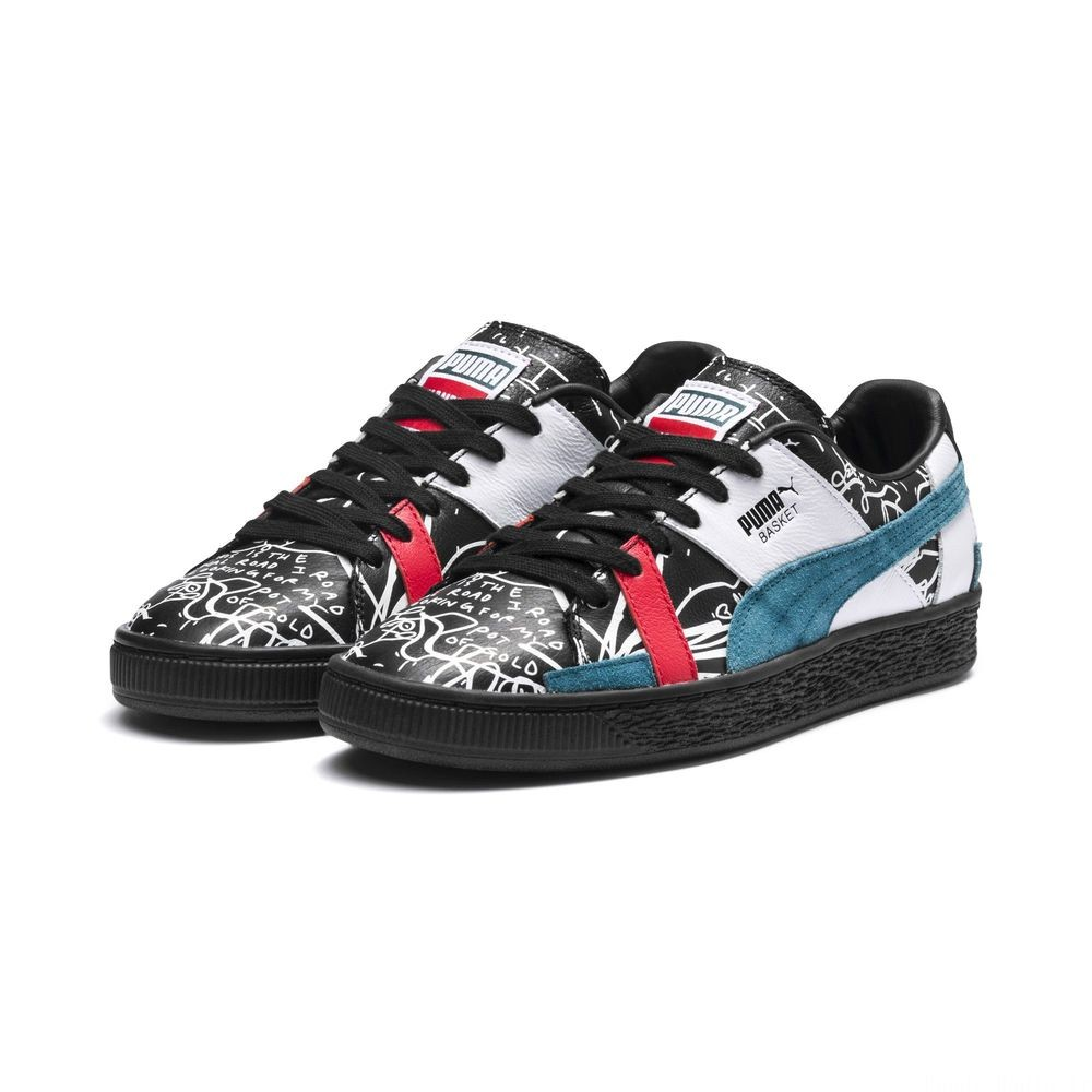 Basket Graphic PUMA x SHANTELL MARTIN Couleur Puma Black-Dragonfly