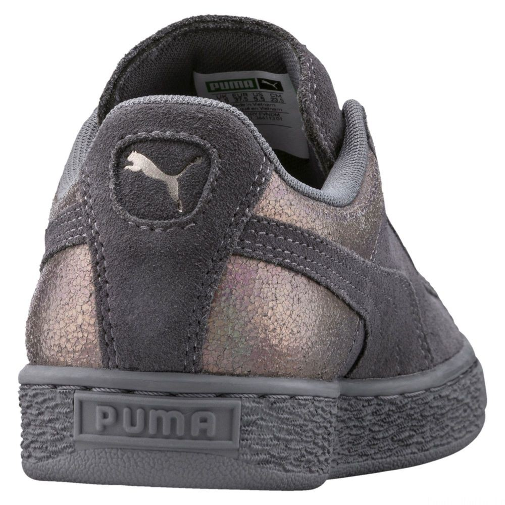 Suede LunaLux pour femme Couleur Smoked Pearl